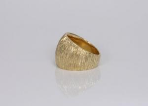 Ring in oud goud
