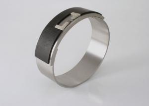 armband ingelegd met ebbenhout en ruwe diamant