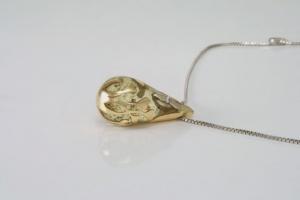Gouden as in hars hanger